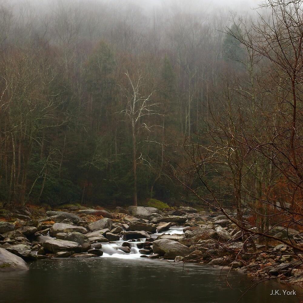 misty mountain  by J.K. York
