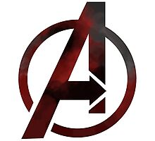 avengers logo Photographic Print