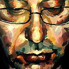 My Uncle Portrait 2 (detail) by Ognjen Stevanović
