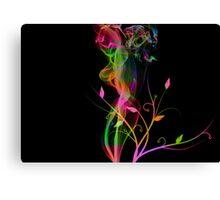 Colour & Flowers. Canvas Print