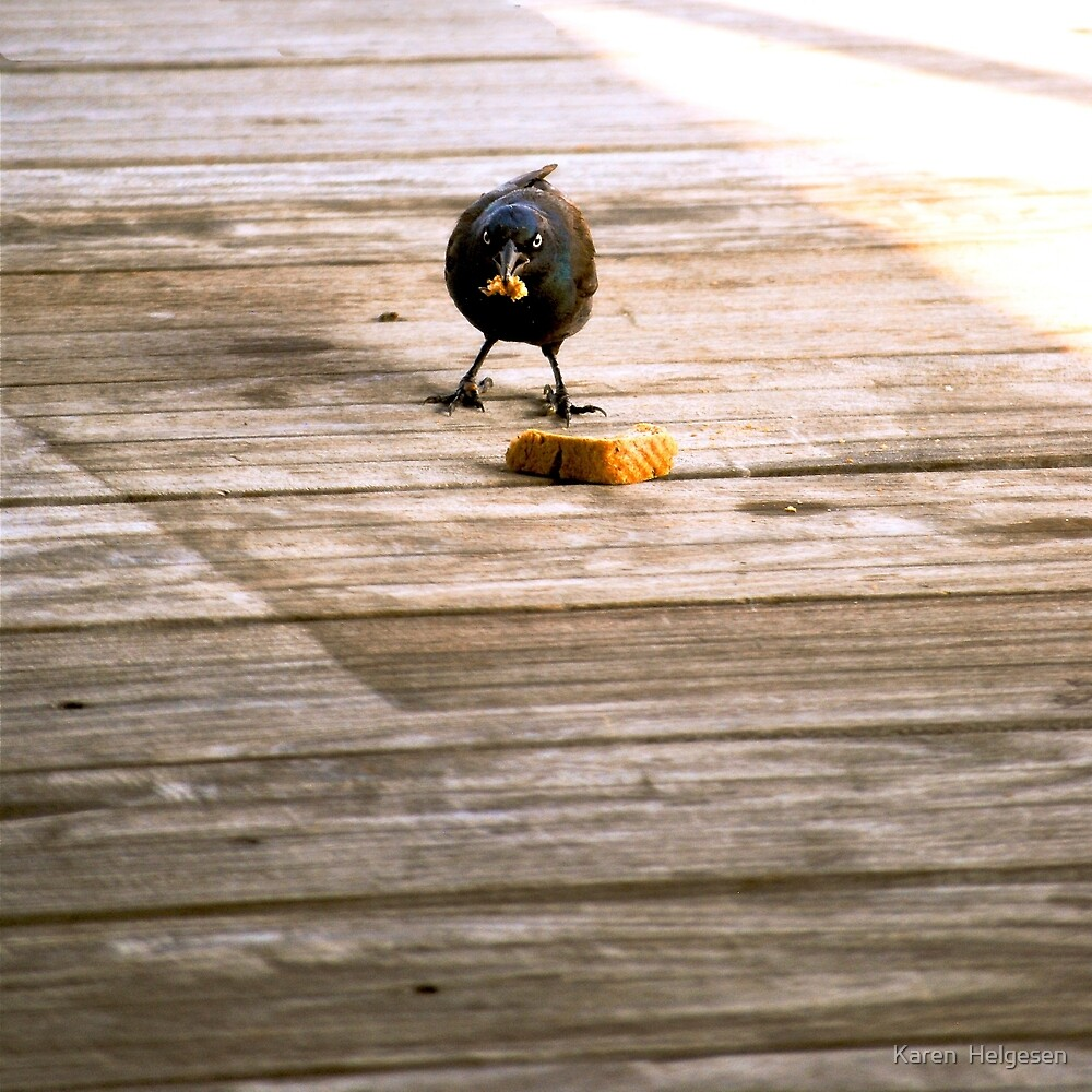 Go Ahead...Make My Day... by Karen  Helgesen