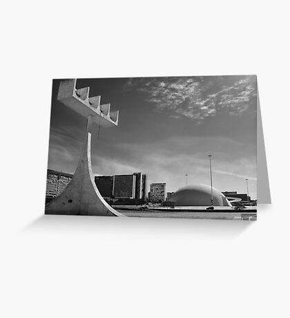 Empty city Greeting Card
