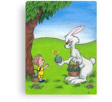 Bad Bunny- His Easter Egg Has Finally Cracked Canvas Print