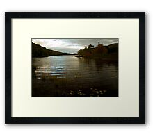 Cape Breton river in fall - Nova Scotia Framed Print