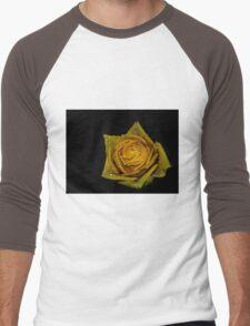 Yellow Rose Men's Baseball ¾ T-Shirt