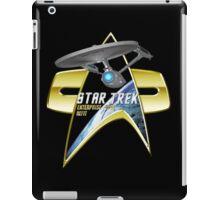 StarTrek Enterprise Refit Com badge 2 iPad Case/Skin