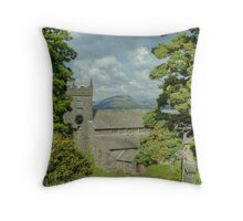 Two-Forty in Hawkshead Throw Pillow