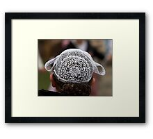 Woman Wearing Lace Headdress (Coiffes) - Brittany France Framed Print