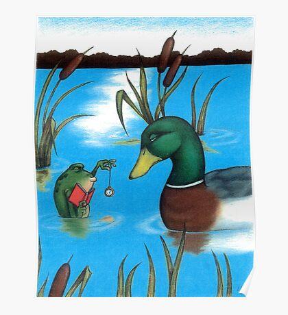 Frog Hypnotist - When Catching Flies Gets Boring Poster