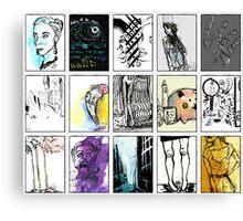 Compilation Canvas Print