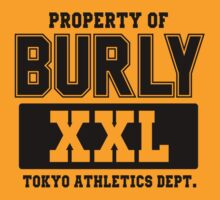 Burly XXL Tokyo Athletics Dept by kumada