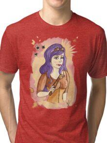 Steampunk Gunslinger Tri-blend T-Shirt