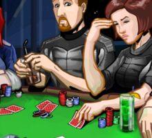 Mass Effect - It's Poker Time! Sticker