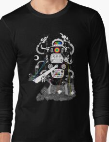 Behold my Wrench, Destructron! Long Sleeve T-Shirt