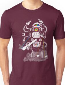 Behold my Wrench, Destructron! Unisex T-Shirt