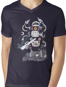 Behold my Wrench, Destructron! Mens V-Neck T-Shirt