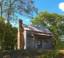 Little House on the Hill, Pittsylvania County, Virginia by BCallahan