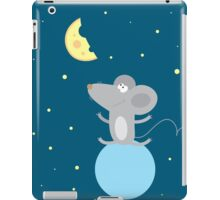 Card with a little mouse. iPad Case/Skin