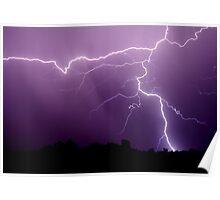 Tstorm rain Poster