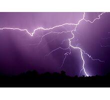 Tstorm rain Photographic Print