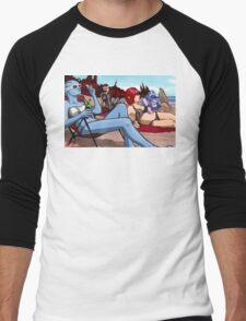 Mass Effect Cartoon - Ladies' Day Off Men's Baseball ¾ T-Shirt