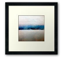 approaching ice station zebra Framed Print