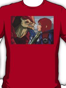 Mass Effect - Wrex vs. Shepard T-Shirt
