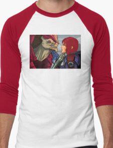 Mass Effect - Wrex vs. Shepard Men's Baseball ¾ T-Shirt