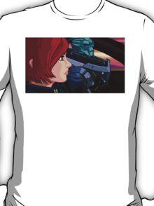 Mass Effect Cartoon - Old Friends T-Shirt