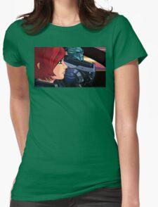 Mass Effect Cartoon - Old Friends Womens Fitted T-Shirt