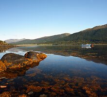 Loch Leven from South Ballachulish. by John Cameron