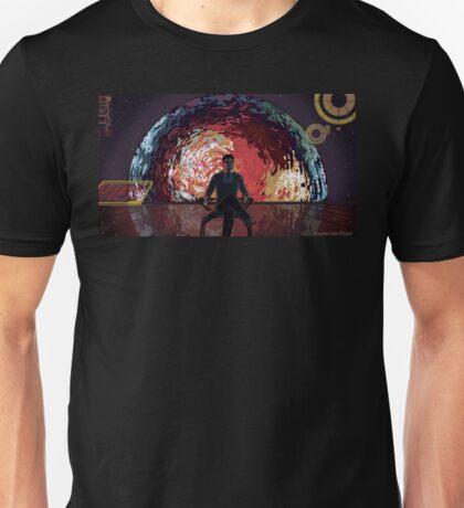 Mass Effect Cartoon - The Illusive Man Unisex T-Shirt