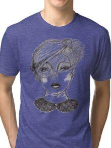 Looking Through a More See Through Veil Tri-blend T-Shirt