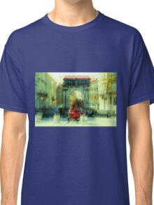 The Essence of Croatia - Red Motorbike in Pula Classic T-Shirt
