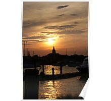 Annapolis at Sunset Poster