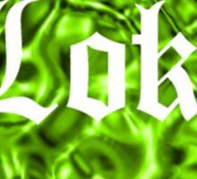 Love Loki (Grass-Green Liquid Metallic) Sticker