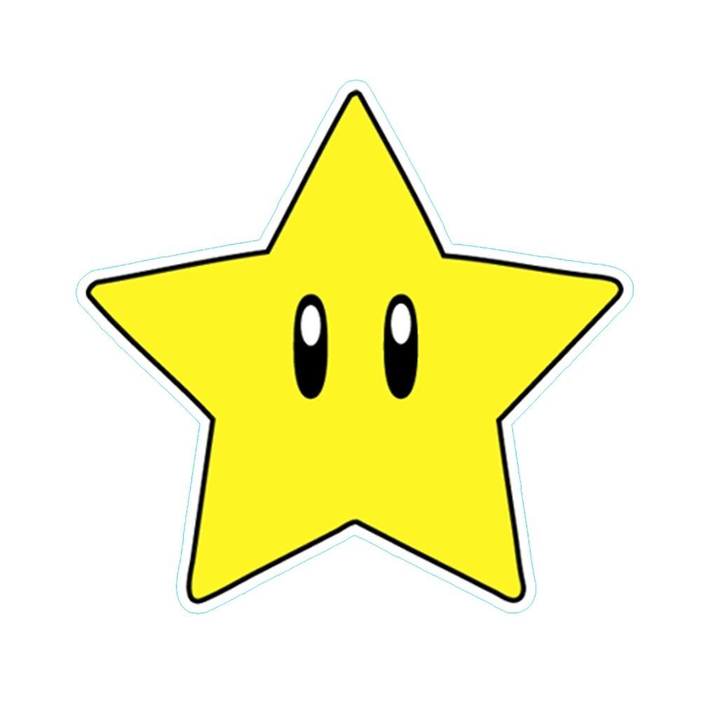 """Super Mario Star"" by danthekash Redbubble"