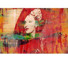 Marlene. Looking Down. Photographic Print