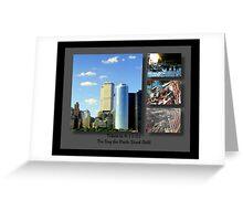 9-11 Tribute ©  Greeting Card