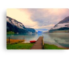 Norwegian Landscape IV Canvas Print
