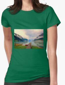 Norwegian Landscape IV Womens Fitted T-Shirt