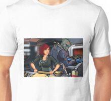 Mass Effect Cartoon - Cookie Time Unisex T-Shirt