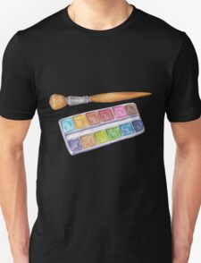 palette with brush T-Shirt