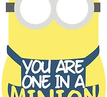 You Are One In A Minion (Big Little) by kimcrabtree