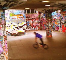 Southbank BMX Park, London by Chris Millar