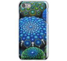 Cool Tone Mandala Stone Collection iPhone Case/Skin