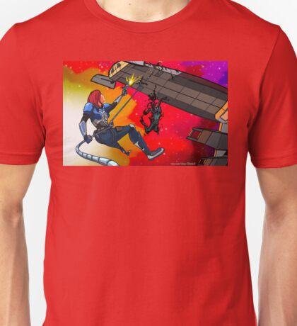 Mass Effect Cartoon - Husk Attack Unisex T-Shirt