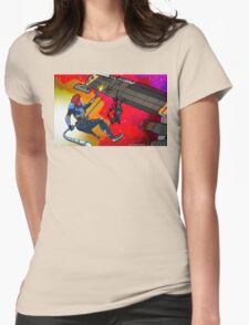 Mass Effect Cartoon - Husk Attack Womens Fitted T-Shirt
