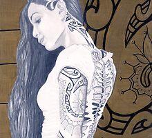 Hawiian Tribal Arm - 2014 by MattWinter
