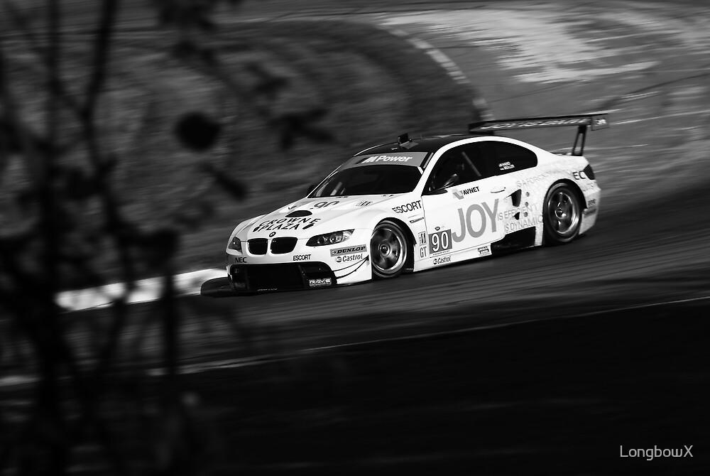 BMW M3 ALMS GT2 Panning Mosport Monochrome II by LongbowX